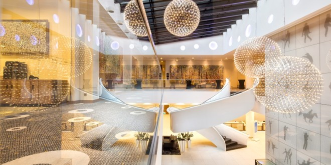 Zdjęcia wnętrz hotelu Double Tree by Hilton w Łodzi