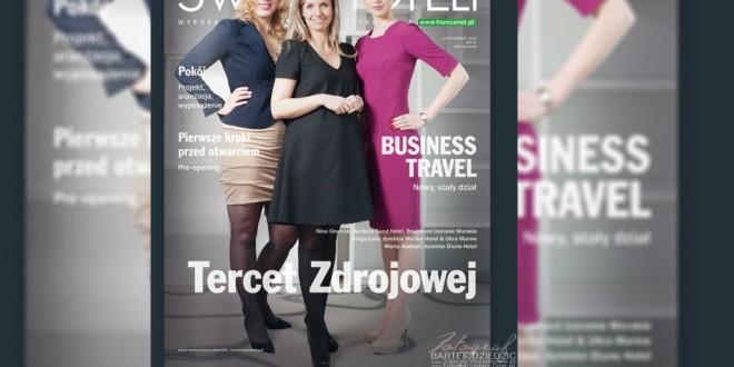 """Bartek Dziedzic to fotograf któego zdjęcia reklamowe Automobil Hotelu ukazały się w magazynie """"Świat Hoteli"""""""