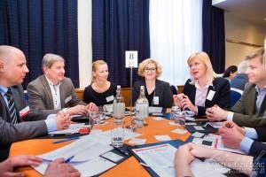 Zdjęcia na konferencji w Krakowie.