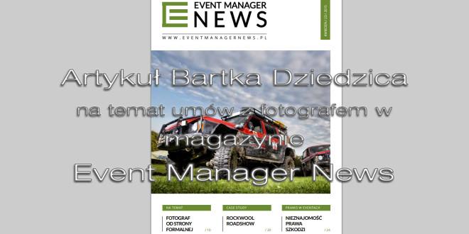 Umowa z fotografem Bartek Dziedzic radzi jak powinna wyglądać umowa.
