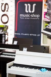 Wirtualny spacer. Sklep muzyczny Music Shop