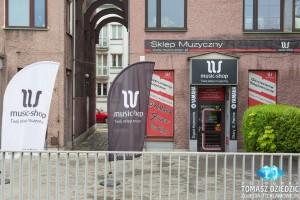 Wirtualny spacer po sklepie Kraków. Sklep muzyczny Music Shop