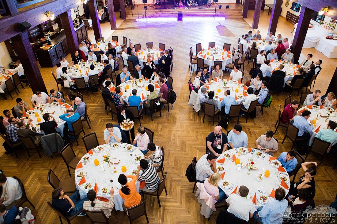 Kongres gala Dinner Katowice.