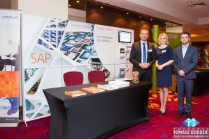 Hicron Group wystawcy podczas konferencji w Warsaw Marriott hotel