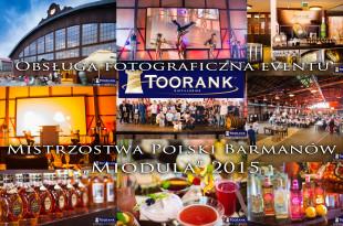 Obsługa fotograficzna eventu Kraków. Stara Zajezdnia była miejscem gdzie odbyły się Mistrzostwa Polski Barmanów Miodula 2015. Dodatkowo odbyły się targi, warsztaty dla barmanów i Baristów.