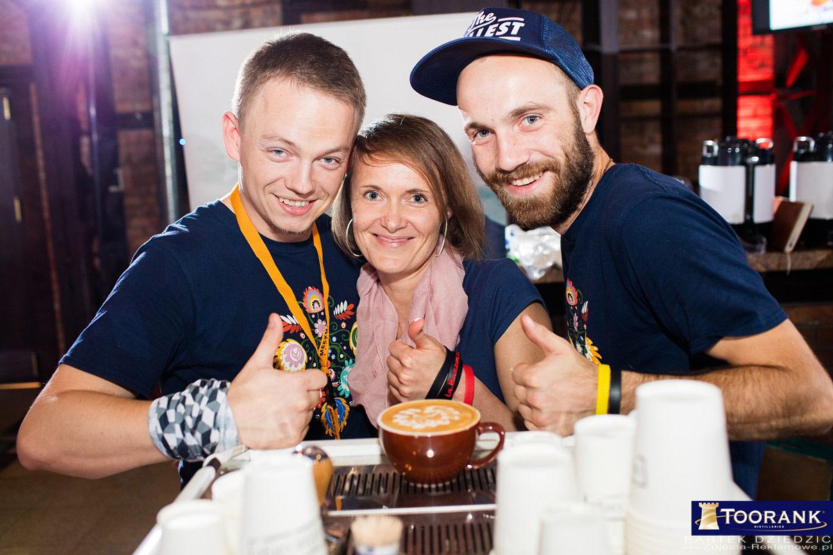 Coffe Niezwykła Kawa na targach i Mistrzostwach Polski Barmanów. Miodula 2015 Kraków.