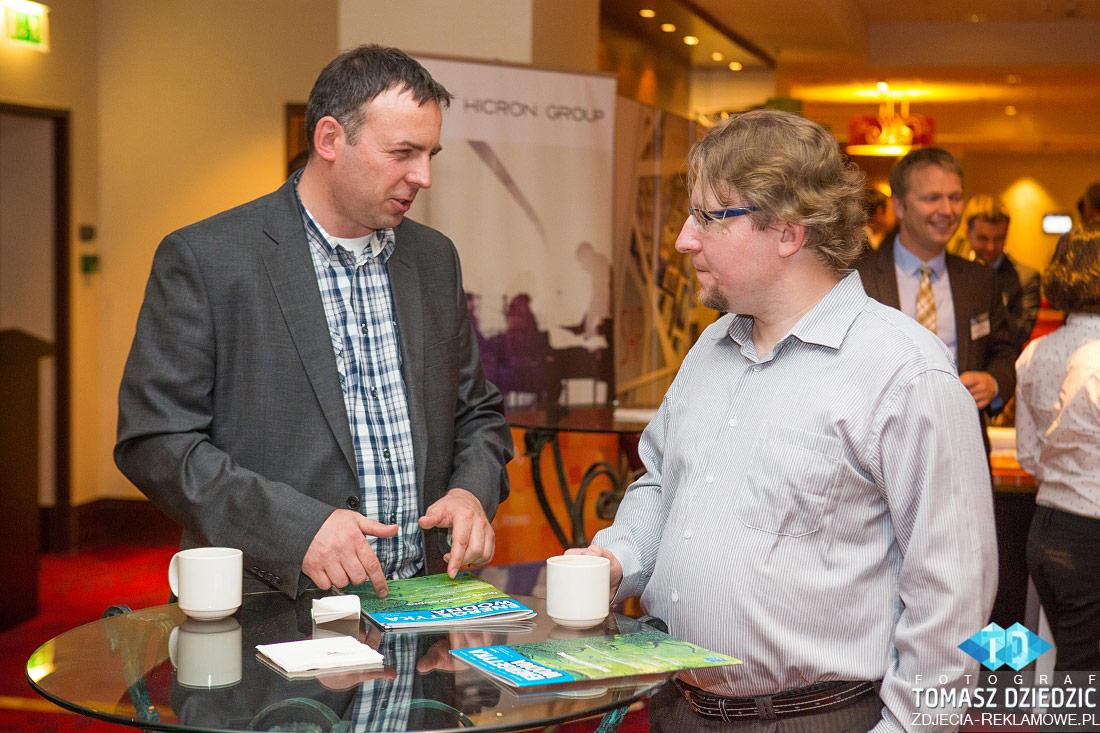 Fotografia reklamowa z konferencji w hotelu Marriott