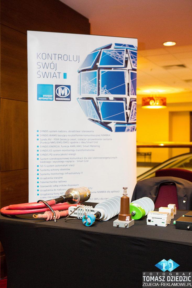 Stoisko mikronika konferencja hotel Marriott
