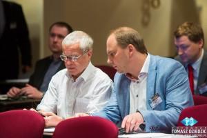 Uczestnicy konferencji hotel Marriott Warszawa