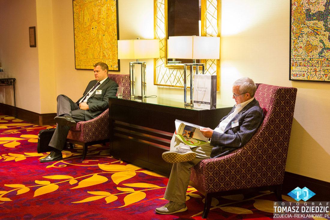Uczestnicy konferencji Warsaw Marriott hotel