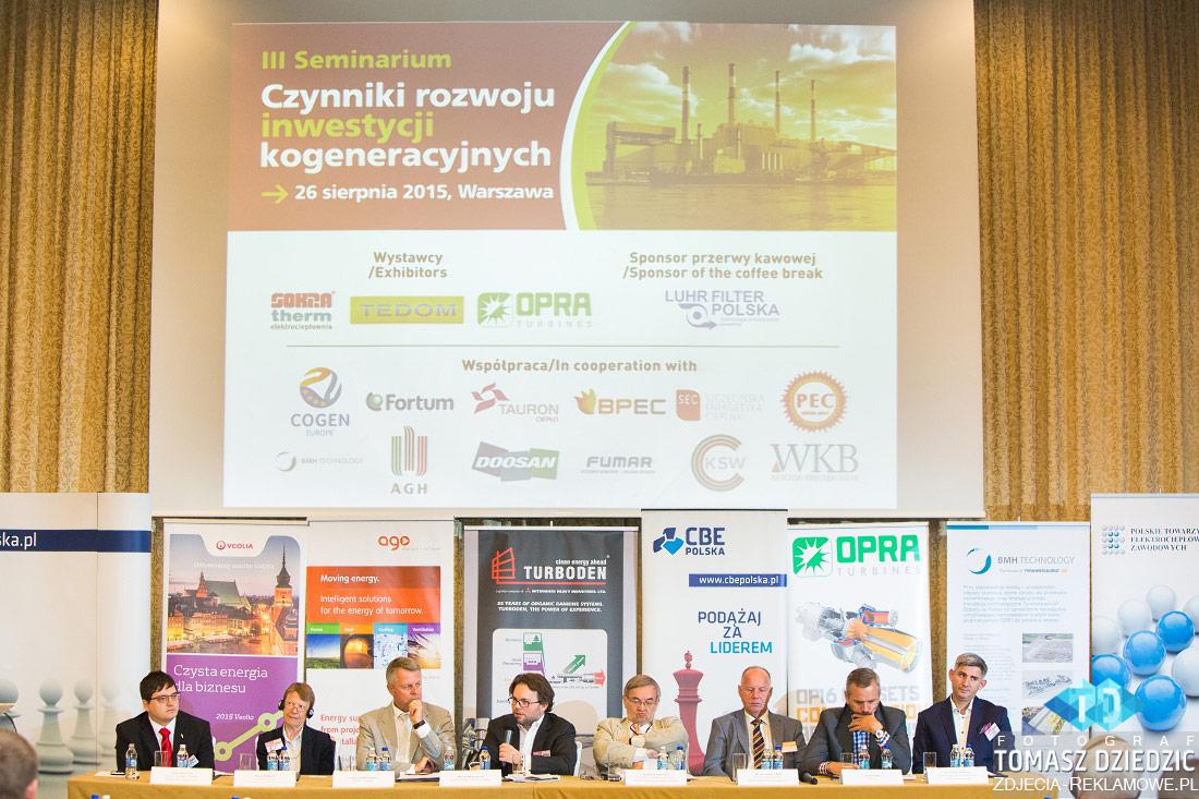 Uczestnicy konferencji Warszawa InterContinental
