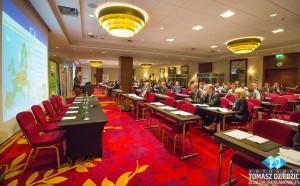 Zdjęcia konferencja Marriott Warszawa