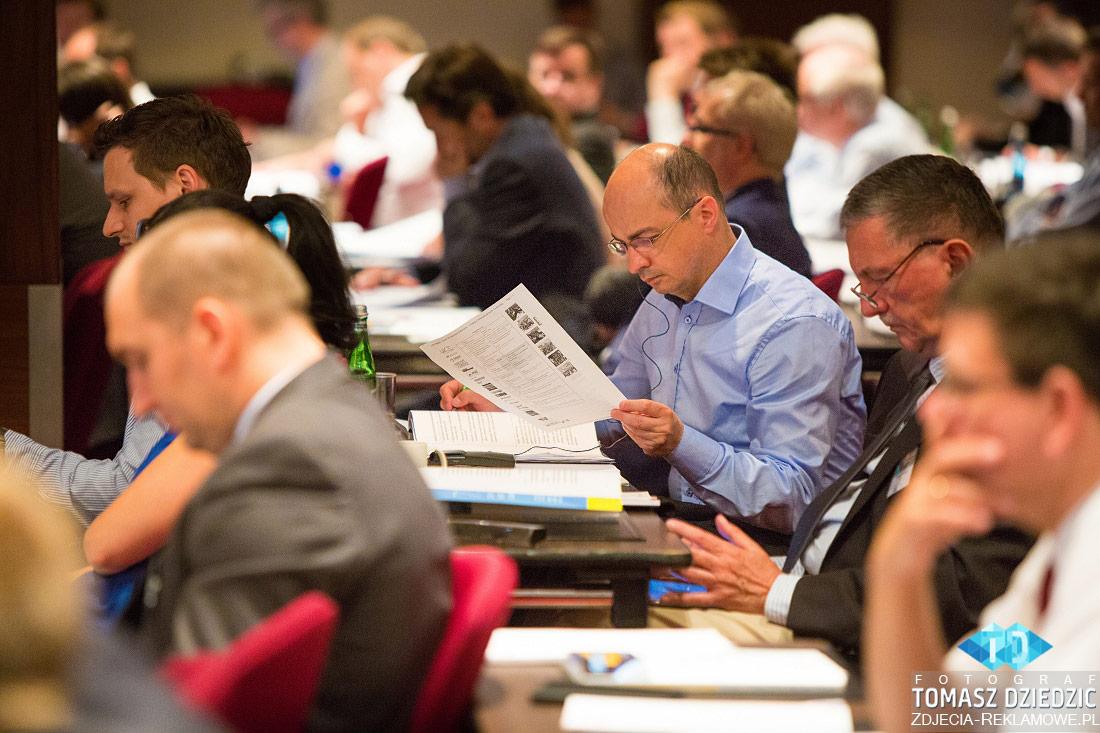 Zdjęcia z konferencji Warszawa hotel Marriott