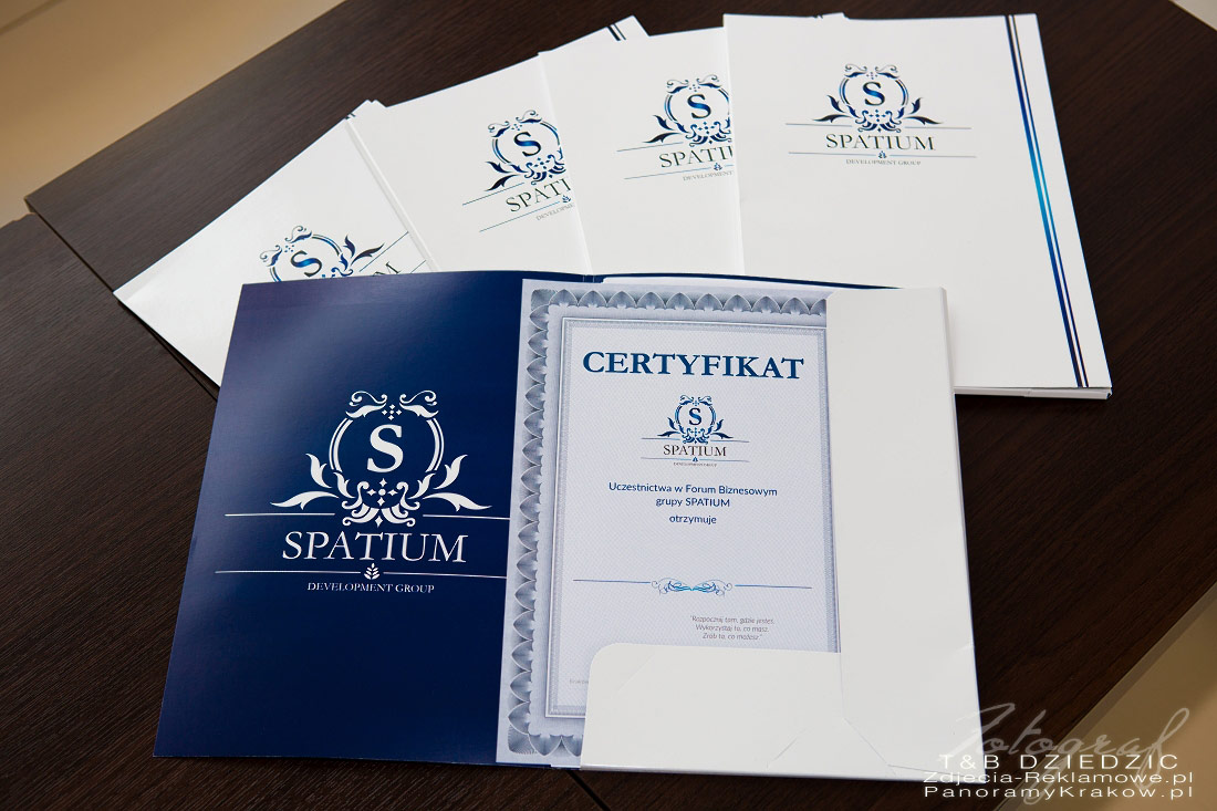 Certyfikat Szkolenia SpatiumDG