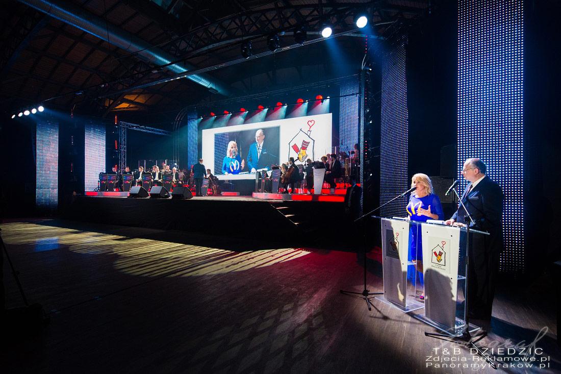 Fotograf na event Kraków. Gala Z okazji otwarcia domu Ronalda McDonalda.