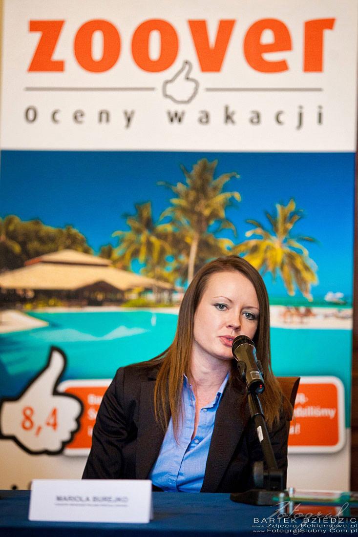fotograf na konferencję Kraków. Zdjęcie przedstawiciela firmy Zoover