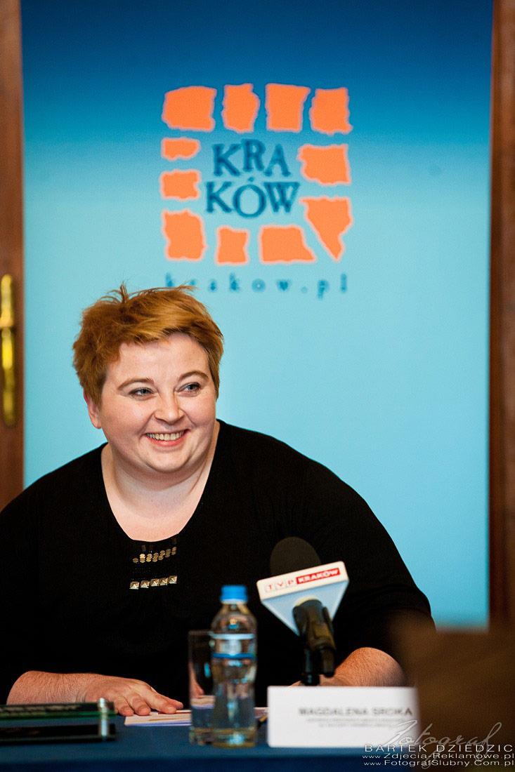Fotograf na konferencje Kraków. Małgorzata Sroka Urząd Miasta Kraków.