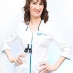 Zdjęcie biznesowe lekarz stomatolog