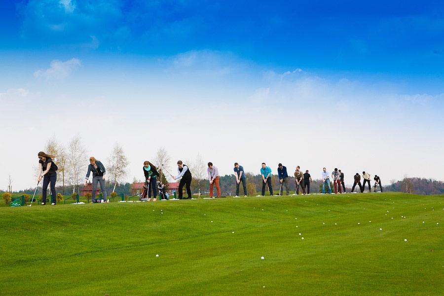 Event na polu golfowym Paczółtowice