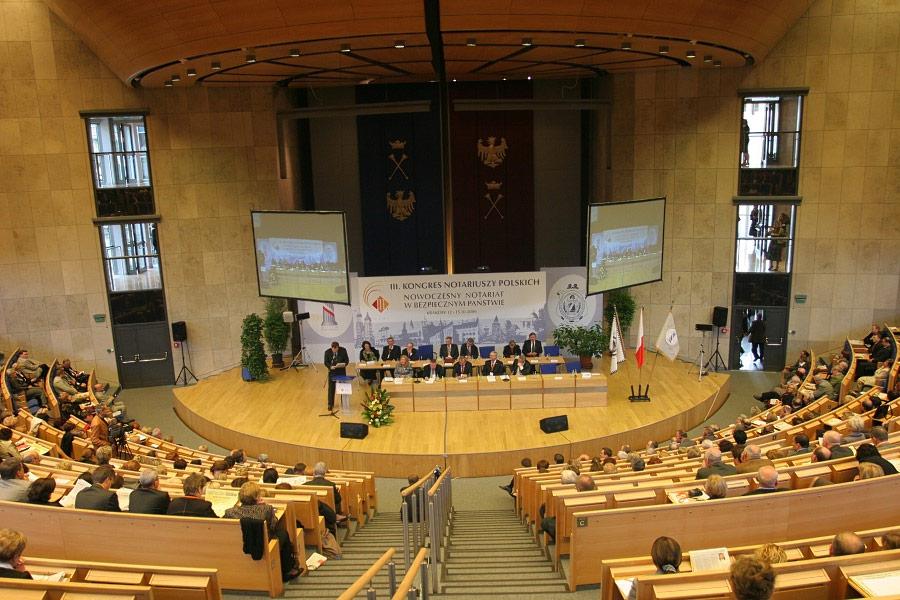 Auditorium Maximum UJ konferencja