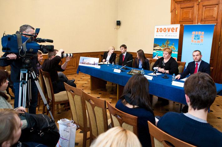 Konferencja prasowa Urząd Miasta Kraków ZOOVER