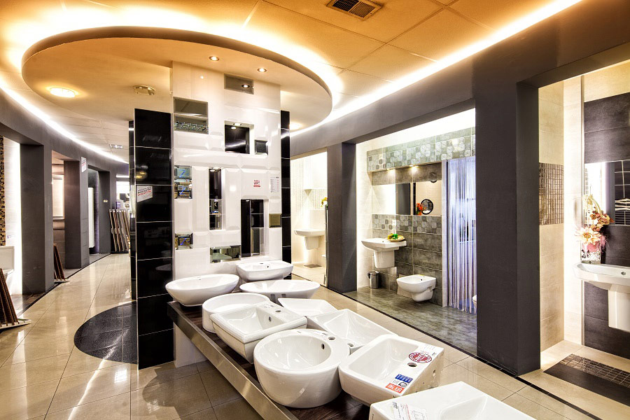 Wyposażenie łazienek Zdjęcia reklamowe