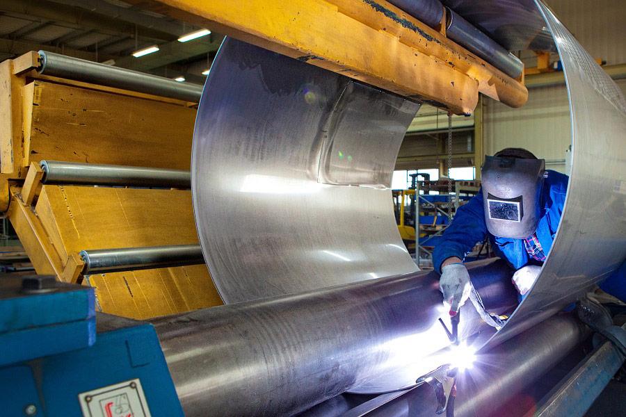 Zdjęcia reklamowe w fabryce