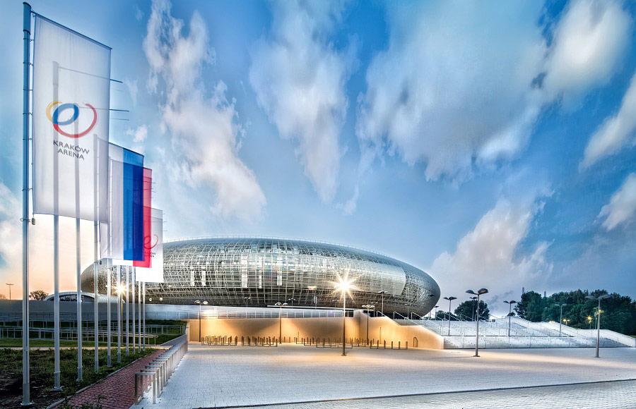 Kraków Arena zdjęcia reklamowe
