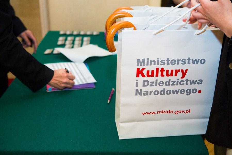 Zdjęcia podczzas konferencji Ministerstwa Kultury w Krakowie
