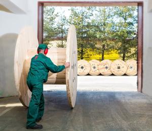 Gotowy bęben drewniany opuszcza fabrykę. Kartex