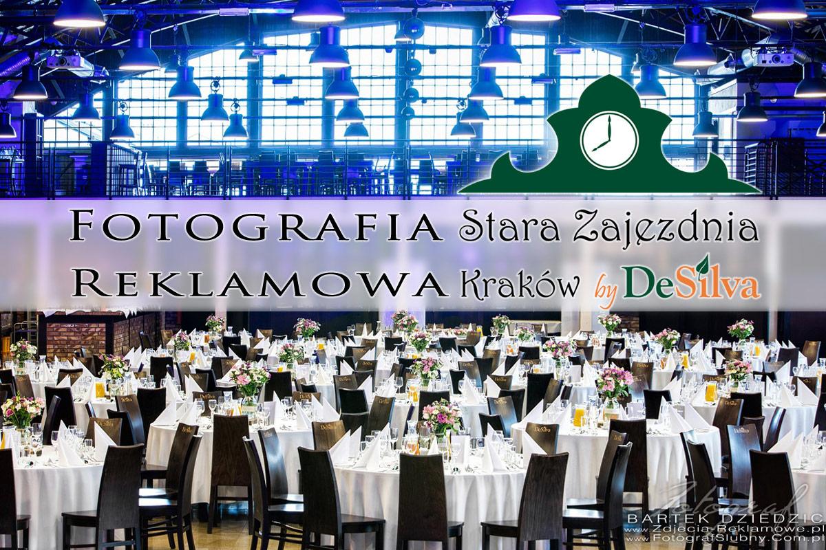 Fotografia reklamowa Stara Zajezdnia By DeSilva w Krakowie