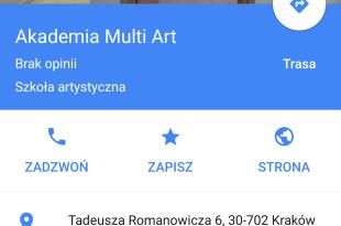 Akademia MultiArt Kraków business View. Panoramy wykoanen w Krakowskiej szkole filmowej.