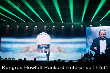 fotografia podczas kongresu Hewlett Pacard