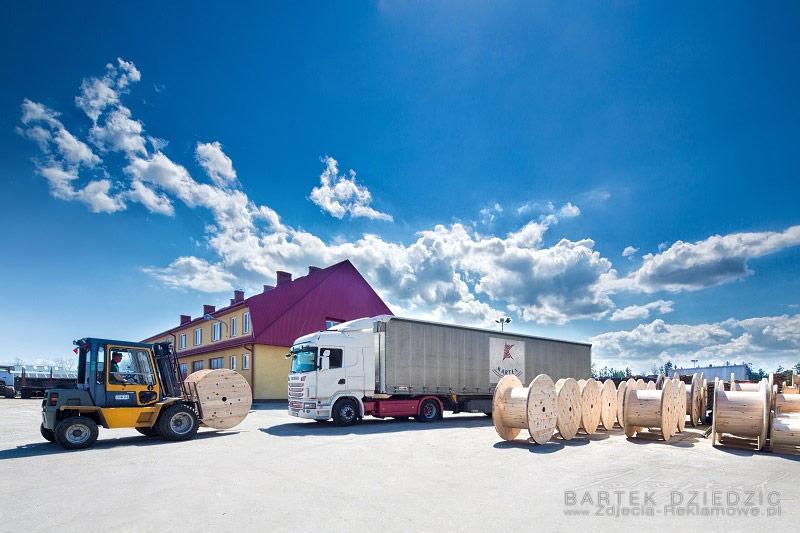 Sesja zdjęciowa dla Kartex producenta bębnów drewnianych