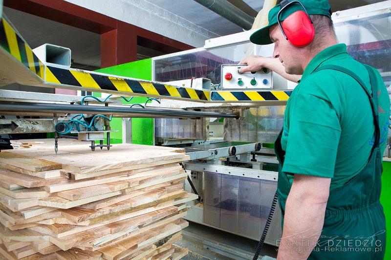 Sterowania pracą maszyny obróbczej. Obróbka drewna. Kartex