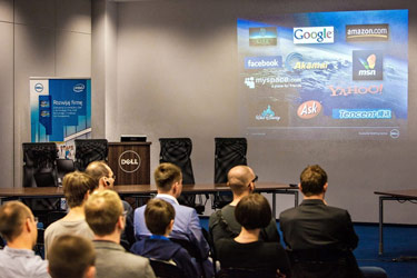 fotografie podczas eventu w Warszawie
